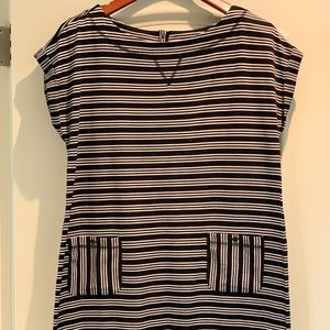 T by Talbots knit popover dress. Large.
